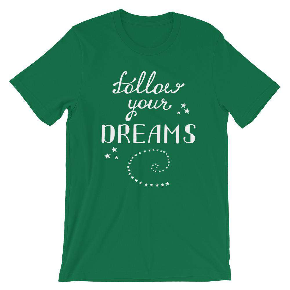Follow Your Dreams Short-Sleeve T-Shirt - Noeboutiques