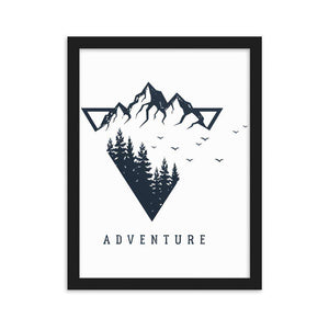 Adventure Framed Poster - Noeboutiques