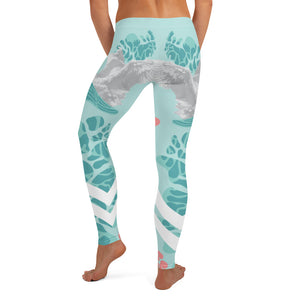 Swan Women Leggings - Noeboutiques
