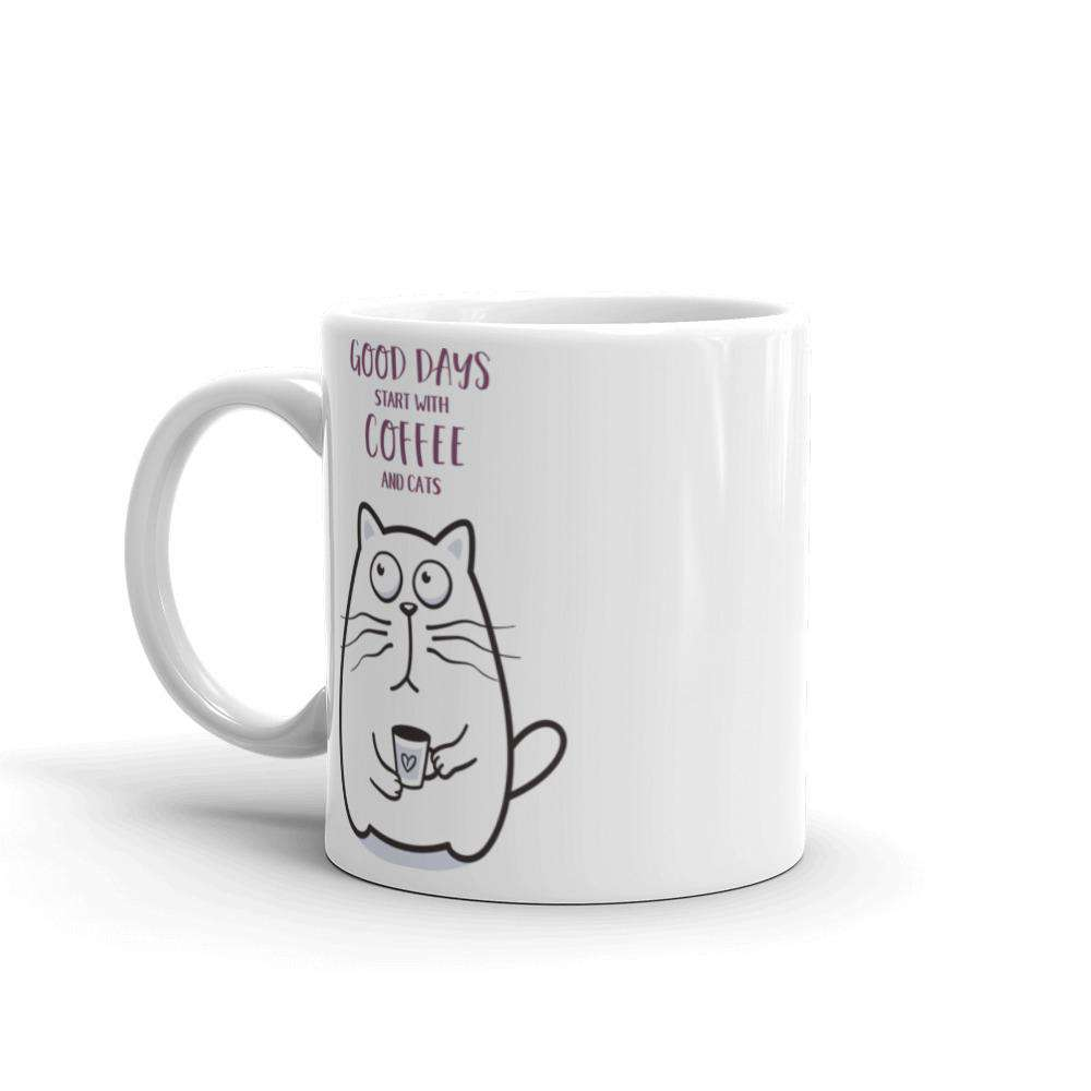 Coffee And Cats Mug - Noeboutiques