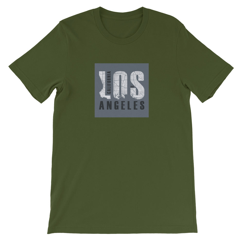 Los Angeles Short-Sleeve T-Shirt - Noeboutiques
