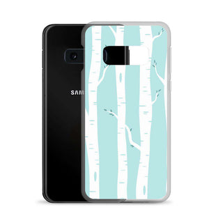 White Trees Samsung Case - Noeboutiques