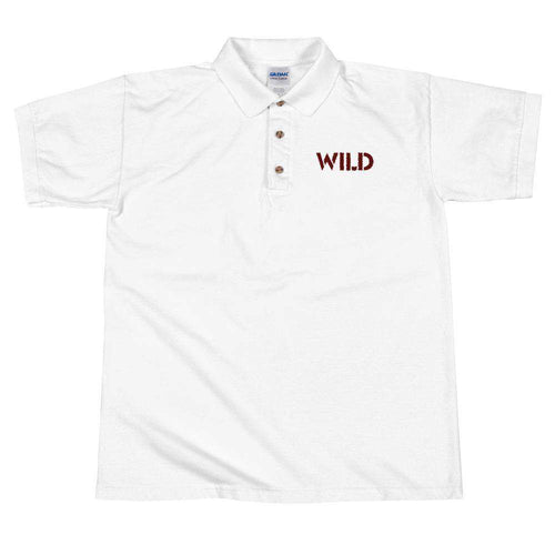 Wild Embroidered Polo Shirt - Noeboutiques