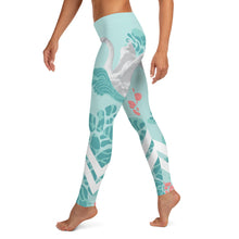 Load image into Gallery viewer, Swan Women Leggings - Noeboutiques