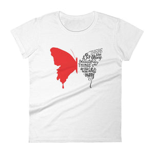 Butterfly Women's Short Sleeve T-shirt - Noeboutiques