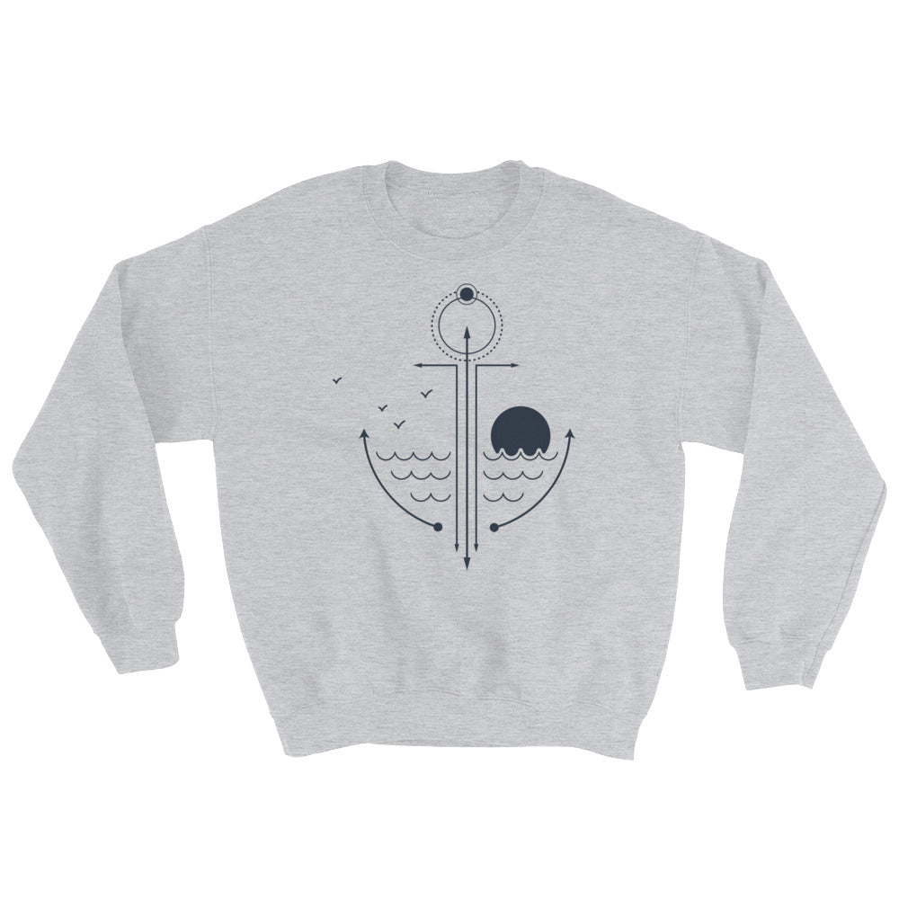 Elements In Anchor Sweatshirt - Noeboutiques