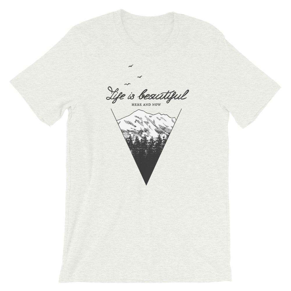 Life Is Beautiful Short-Sleeve Unisex T-Shirt - Noeboutiques