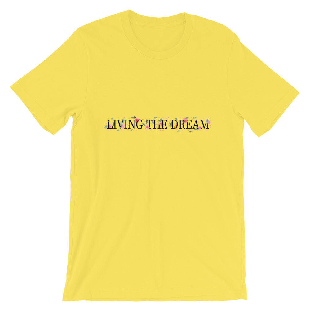 Living The Dream Short-Sleeve T-Shirt - Noeboutiques