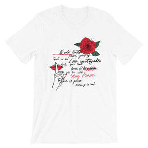 Never Give Up Short-Sleeve  T-Shirt - Noeboutiques