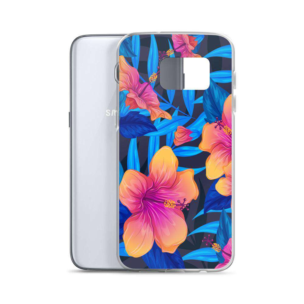Colorful Orchid Samsung Case - Noeboutiques
