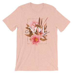 Not Sorry Short-Sleeve T-Shirt - Noeboutiques