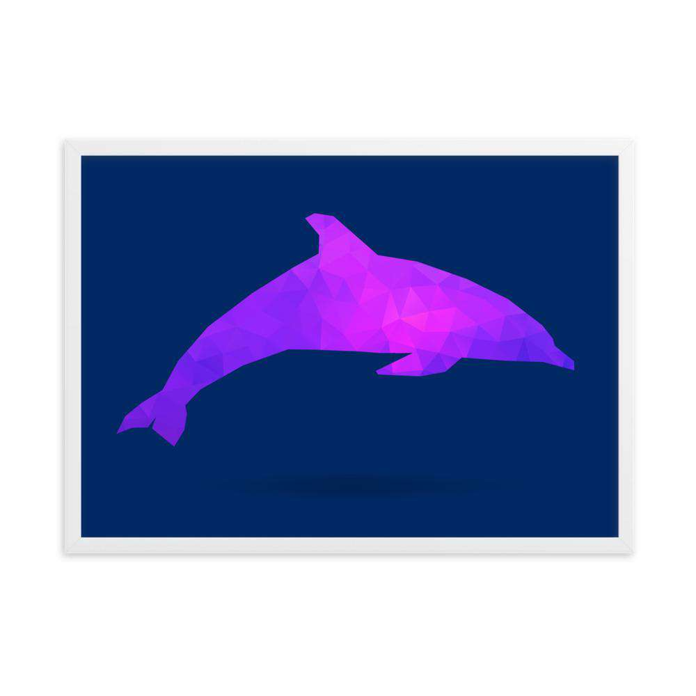 Dolphin Framed Poster - Noeboutiques
