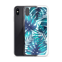 Load image into Gallery viewer, Tropical Leaves iPhone Case - Noeboutiques
