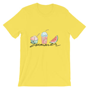 Summer Short-Sleeve T-Shirt - Noeboutiques