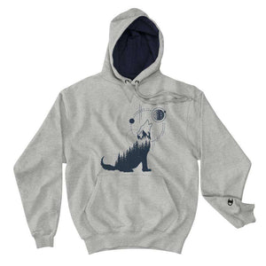 Wolf And Galaxy Champion Hoodie - Noeboutiques