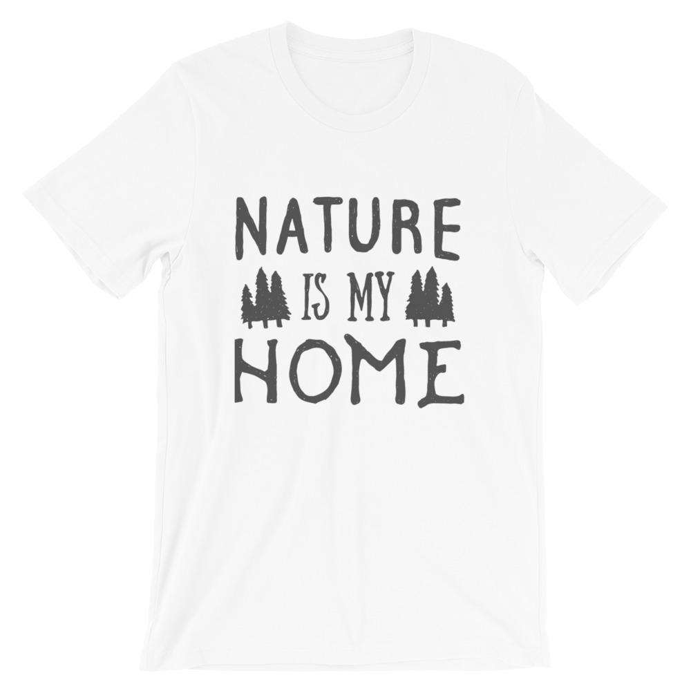 Nature Is My Home Short-Sleeve Unisex T-Shirt - Noeboutiques