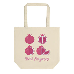 Viva Pomegrante Eco Tote Bag - Noeboutiques
