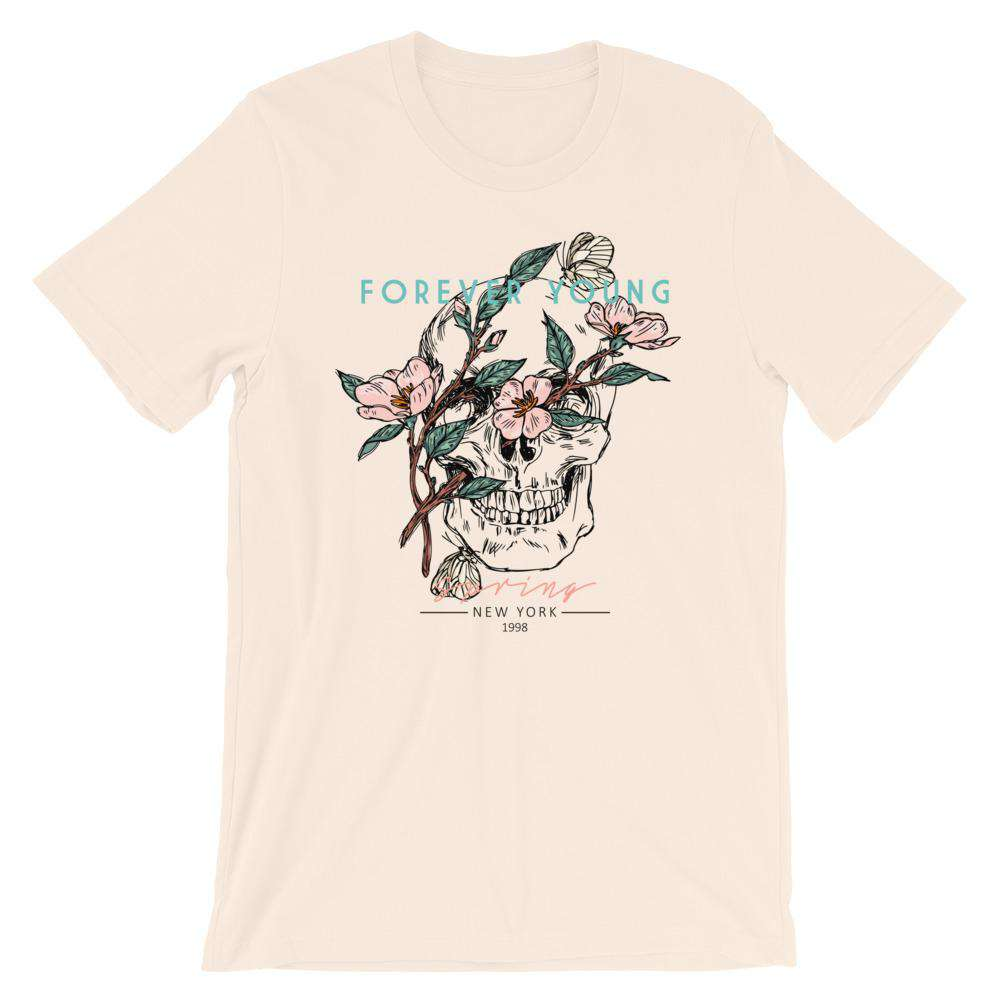 Forever Young Short-Sleeve Unisex T-Shirt - Noeboutiques