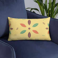 Load image into Gallery viewer, Geometric Leaves Pillow - Noeboutiques