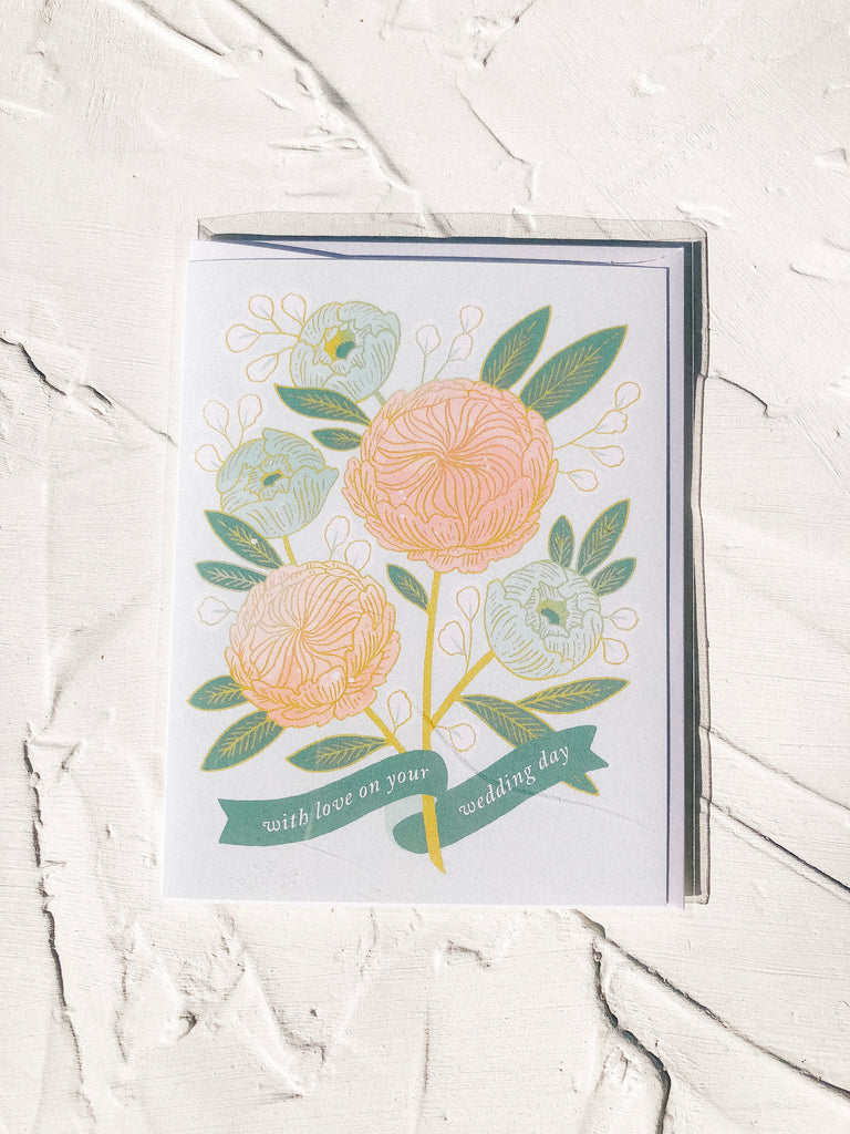 Paper Raven Co. Newlywed Card