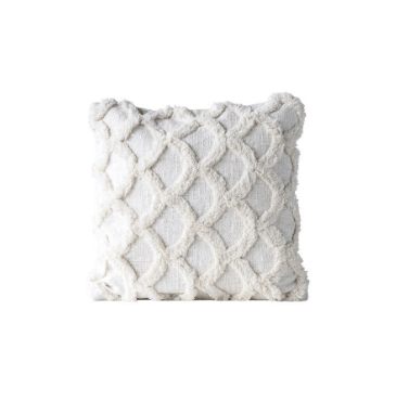 Chenille Scalloped Pillow