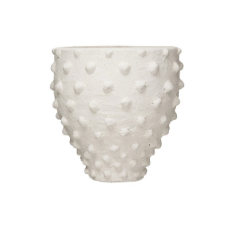 Zemora Vase Raised Dots
