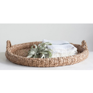 Round Braided Tray