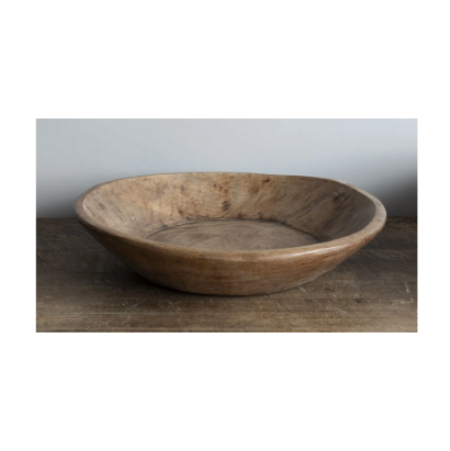 Found Wood Bowl