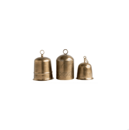 Brass Finish Bells