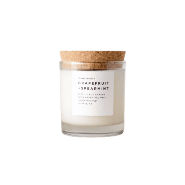 Grapefruit and Spearmint Candle