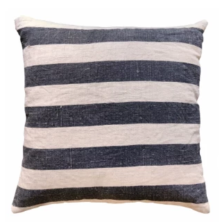 Black Stripes Pillow