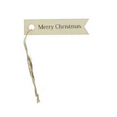 Merry Christmas Gift Tag, ST 12