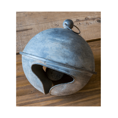 Weathered Tin Jingle Bell