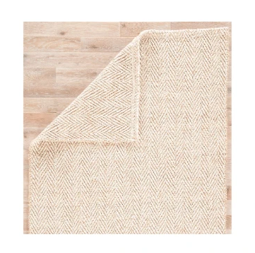 Jaipur Jute PET Yarn Herringbone Rug