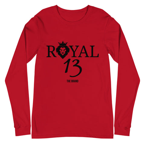 Royal 13 Long Sleeve Tee