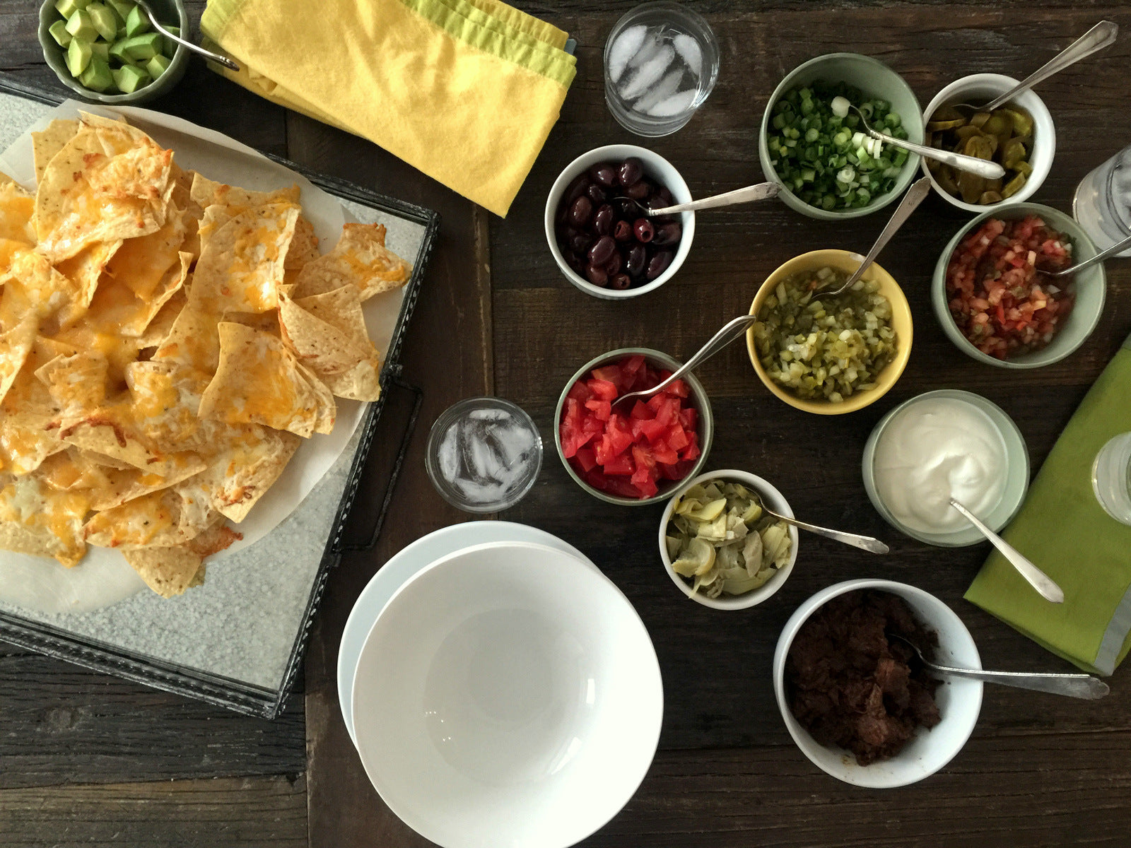 March Madness Party Ideas & Nacho Bar