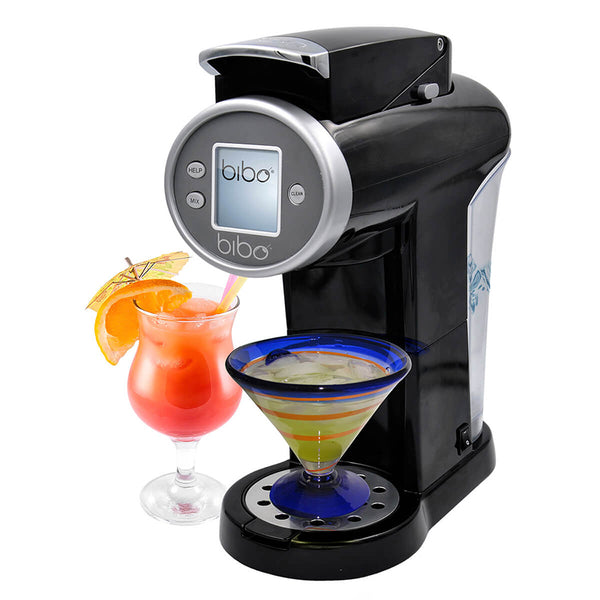 Bibo Barmaid System – Great Cocktails in 20 Seconds (Black) <h5>Comes with 3 sample Bibo Cocktail mixers</h5>
