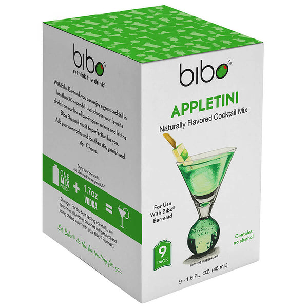 Bibo Appletini 18-Count Cocktail Mix Pouches