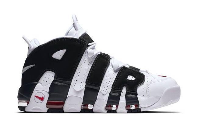 "【送料無料】AIR MORE UPTEMPO ""SCOTTIE PIPPEN"" バッシュ WHITE/BLACK-VARSITY"
