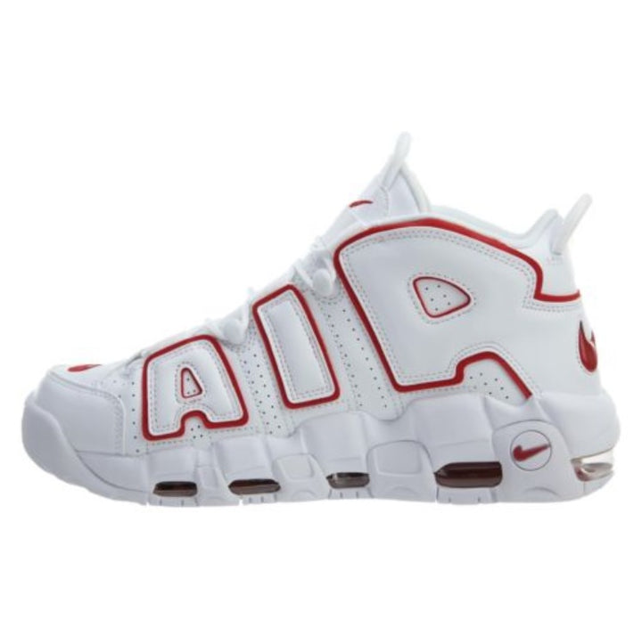 "ナイキ メンズ More Uptempo '96 ""Renowned Rhythm"" バッシュ White/Varsity Red/White"