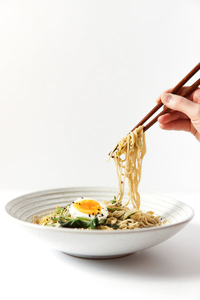 Miso Ginger Bone Broth Ramen