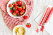 Strawberry Lemonade Broth Pop