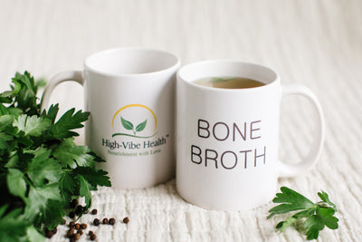 High-Vibe Health Bone Broth Mugs