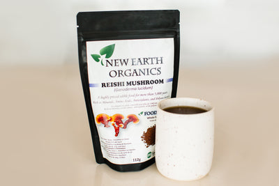 Reishi Mushroom- Organic Whole Food Powder