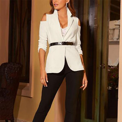 Fashion Strapless Blazer