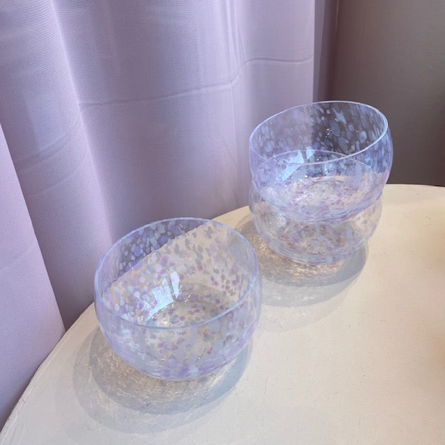 Glass Bowl / Purple