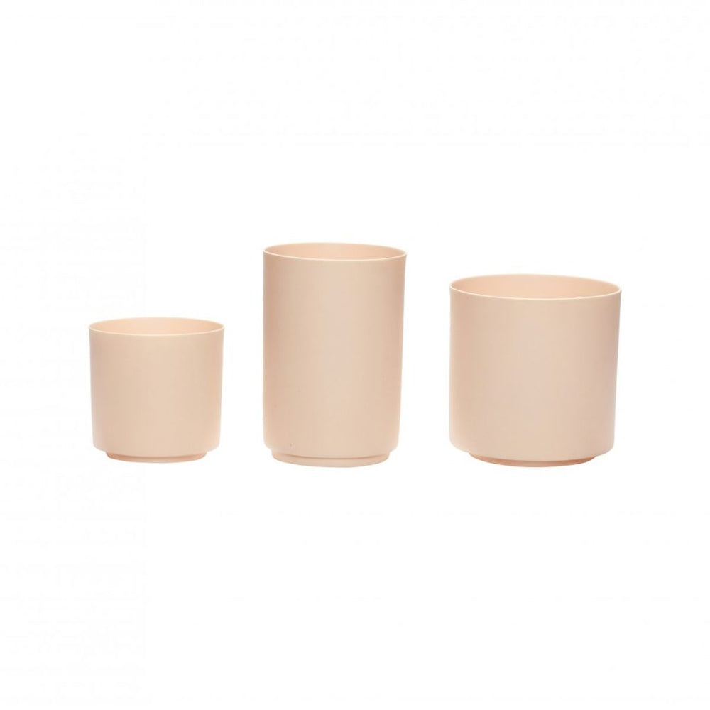<transcy>Tealight Holder / Nude / Set of 3</transcy>