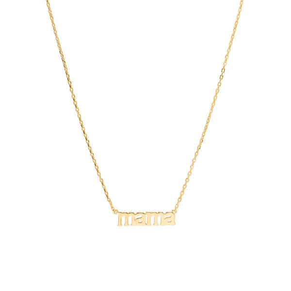 Mama / Necklace / Gold