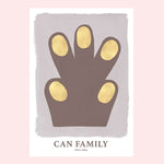 <transcy>Can Family / Hand Brown / 70x100</transcy>