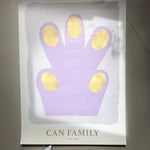 <transcy>Can Family / Hand Purple / 70x100</transcy>
